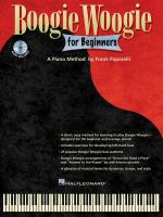 Frank Paparelli: Boogie Woogie For Beginners Sheet Music