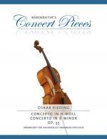 Oskar Rieding: Concerto In B Minor Op.35 - Cello/Piano (Bärenreiter's Concert Pieces) Sheet Music