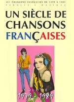 Un siecle de chansons francaises 1979-1989 Sheet Music