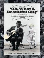 Oh What a Beautiful City: A Tribute to Reverend Gary Davis Sheet Music