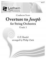 Overture to Joseph for String Orchestra - Score Sheet Music