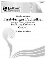First-Finger Pachelbel for String Orchestra - Score Sheet Music