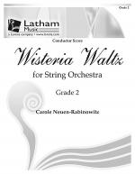 Wisteria Waltz for String Orchestra - Score Sheet Music