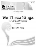 We Three Kings for String Orchestra - Score Sheet Music
