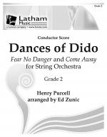 Dances of Dido for String Orchestra - Score Sheet Music