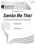 Samba Me This! for String Orchestra - Score Sheet Music