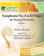Symphonia No. 4 in D Major for String Orchestra Sheet Music