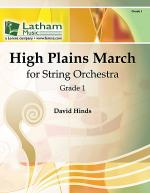 High Plains March for String Orchestra Sheet Music