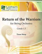 Return of the Warriors for String Orchestra Sheet Music