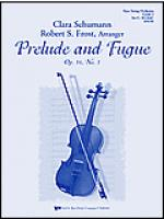 Prelude and Fugue Opus 16, No.3 Sheet Music