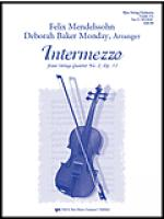 Intermezzo (From String Quartet No.2 Op.13 - Score Sheet Music
