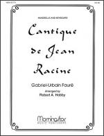 Cantique de Jean Racine Sheet Music
