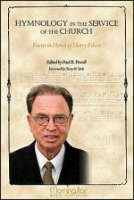 Hymnology in the Service of the Church: Essays in Honor of Harry Eskew Sheet Music