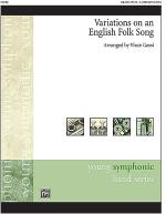 Variations on an English Folk Song Sheet Music