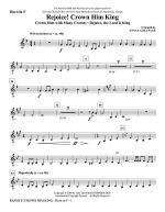 Rejoice! Crown Him King - F Horn Sheet Music