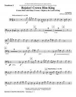Rejoice! Crown Him King - Trombone 2 Sheet Music