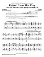 Rejoice! Crown Him King - Handbells Sheet Music
