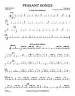Peasant Songs - Percussion 2 Sheet Music