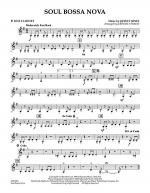Soul Bossa Nova - Bb Bass Clarinet Sheet Music