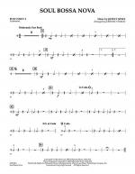 Soul Bossa Nova - Percussion 2 Sheet Music
