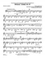 What Time Is It (from High School Musical 2) - Bb Bass Clarinet Sheet Music