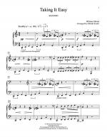 Taking It Easy Sheet Music