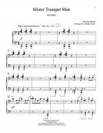 Mister Trumpet Man Sheet Music