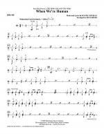 When We're Human (from The Princess And The Frog) - Drums Sheet Music