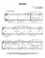 Crying Sheet Music