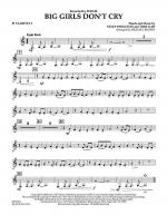 Big Girls Don't Cry - Bb Clarinet 3 Sheet Music
