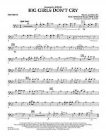 Big Girls Don't Cry - Trombone Sheet Music