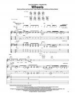 Wheels Sheet Music
