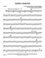 Green Onions - Bassoon Sheet Music