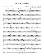 Green Onions - Convertible Bass Line Sheet Music