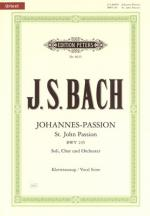C.f. Peters Bach John Passion Bwv245 Sheet Music