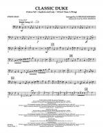 Classic Duke - String Bass Sheet Music