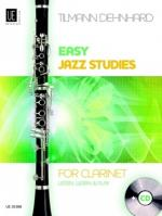 Universal Edition Easy Jazz Studies Clarinet Sheet Music