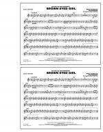 Brown Eyed Girl - 2nd Bb Trumpet Sheet Music