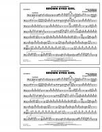 Brown Eyed Girl - Trombone Sheet Music