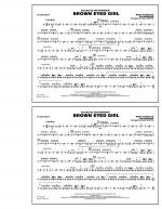 Brown Eyed Girl - Snare Drum Sheet Music