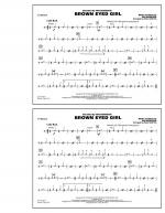 Brown Eyed Girl - Cymbals Sheet Music