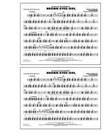 Brown Eyed Girl - Multiple Bass Drums Sheet Music