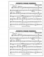 Patriotic Parade Sequence - 1st Bb Clarinet Sheet Music