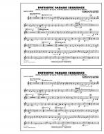 Patriotic Parade Sequence - 2nd Bb Clarinet Sheet Music