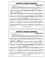 Patriotic Parade Sequence - Bb Tenor Sax Sheet Music