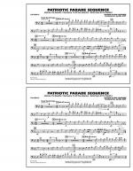 Patriotic Parade Sequence - Trombone Sheet Music
