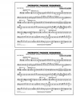 Patriotic Parade Sequence - Electric Bass Sheet Music