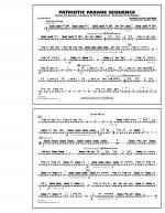 Patriotic Parade Sequence - Snare Drum Sheet Music