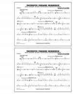 Patriotic Parade Sequence - Cymbals Sheet Music