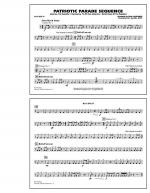 Patriotic Parade Sequence - Bass Drum Sheet Music